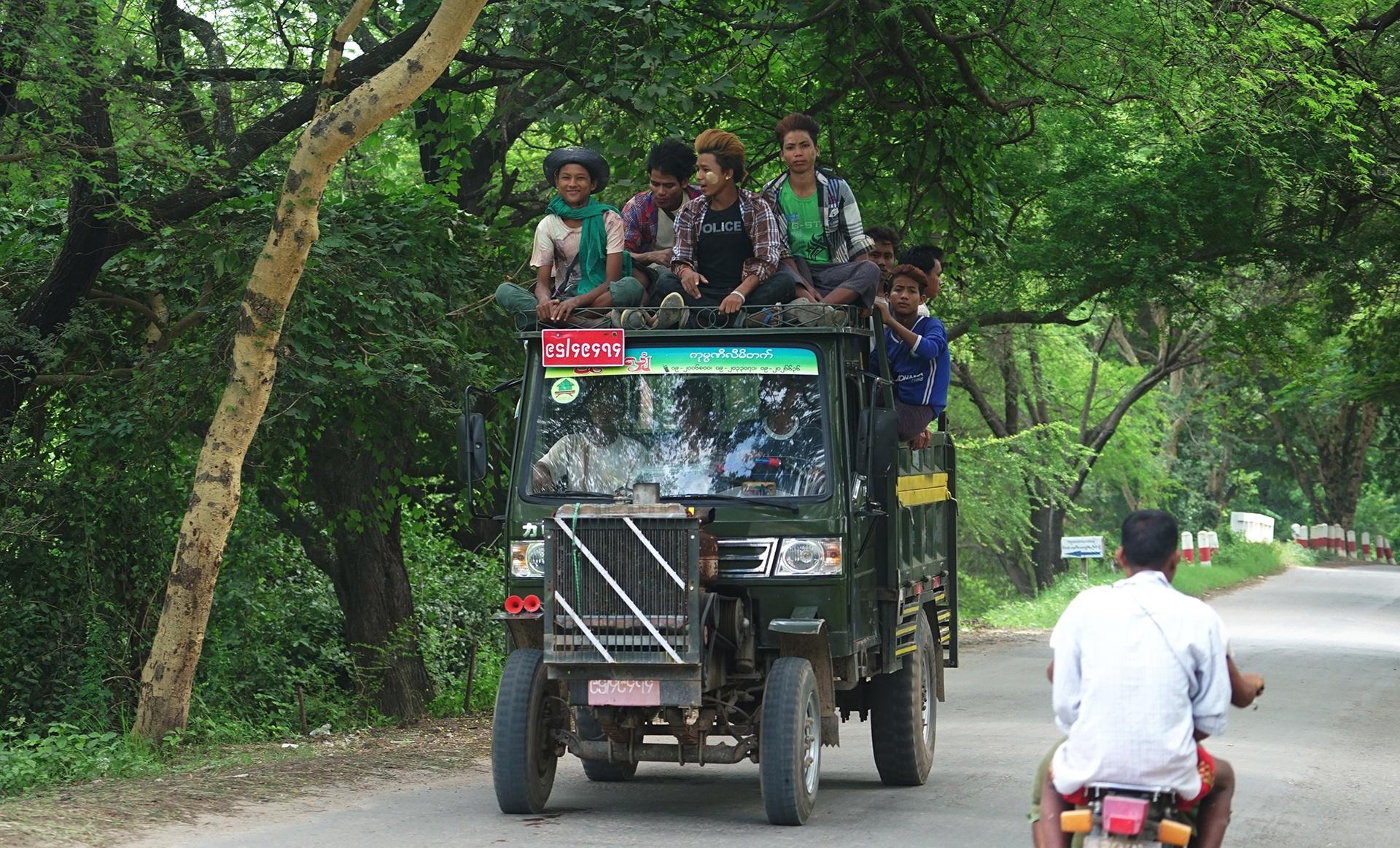 Kham pha Myanmar anh 14