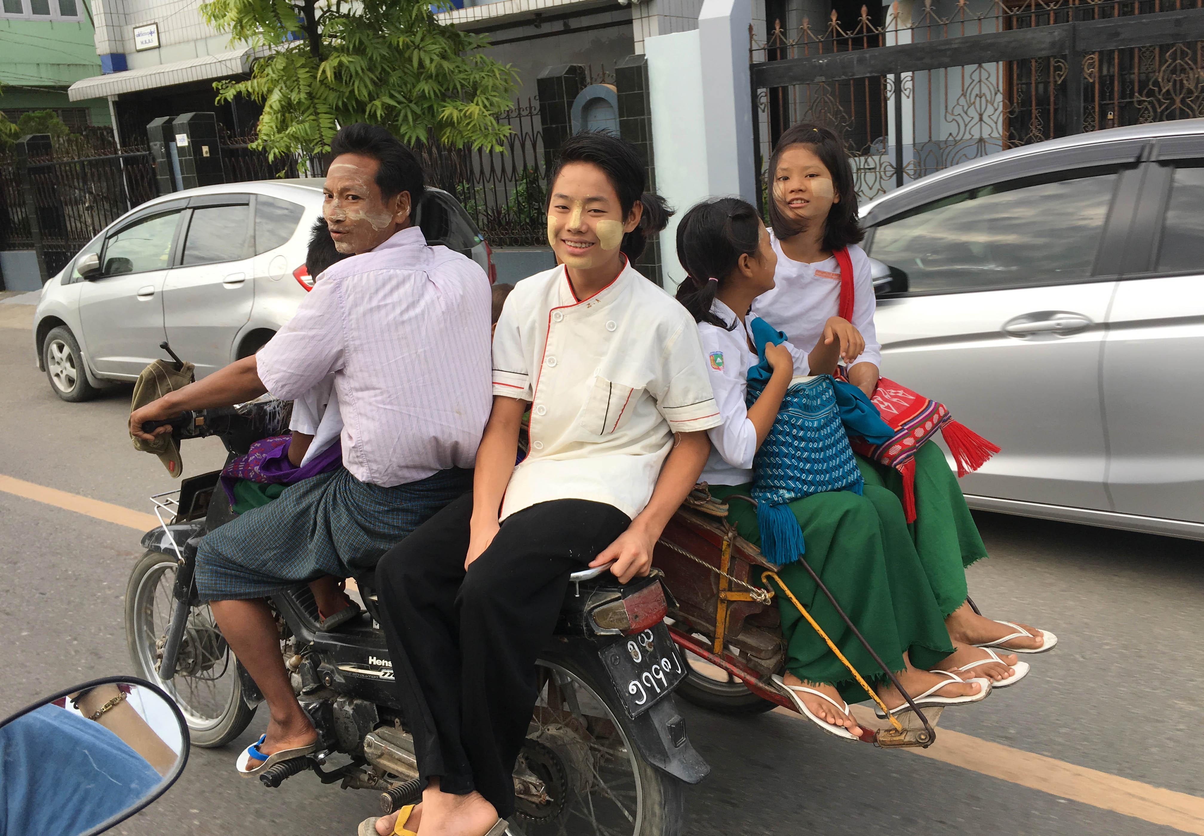 Kham pha Myanmar anh 17
