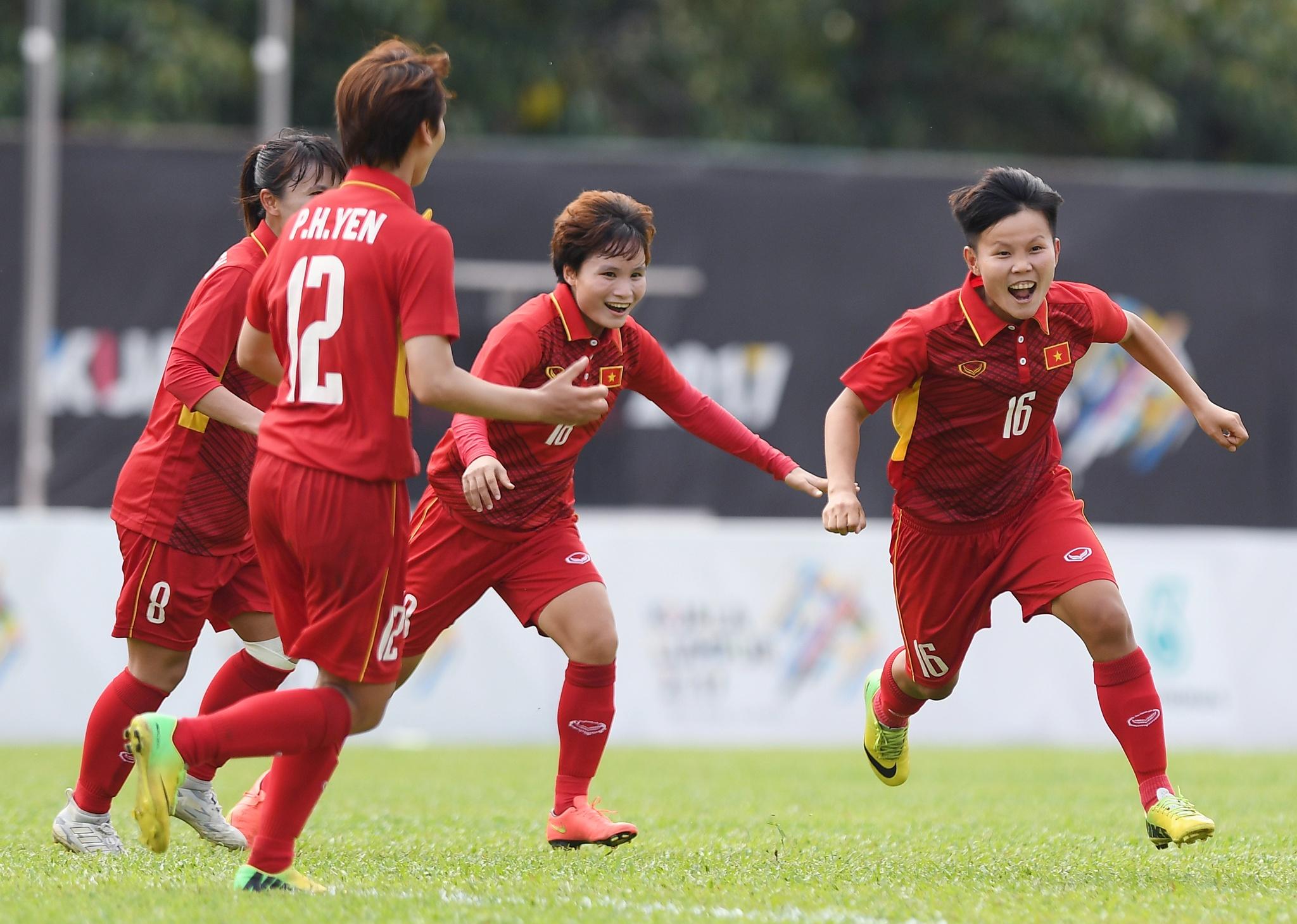 Khoanh khac dep cua nhung co gai vang Viet Nam tai SEA Games 2017 hinh anh 14