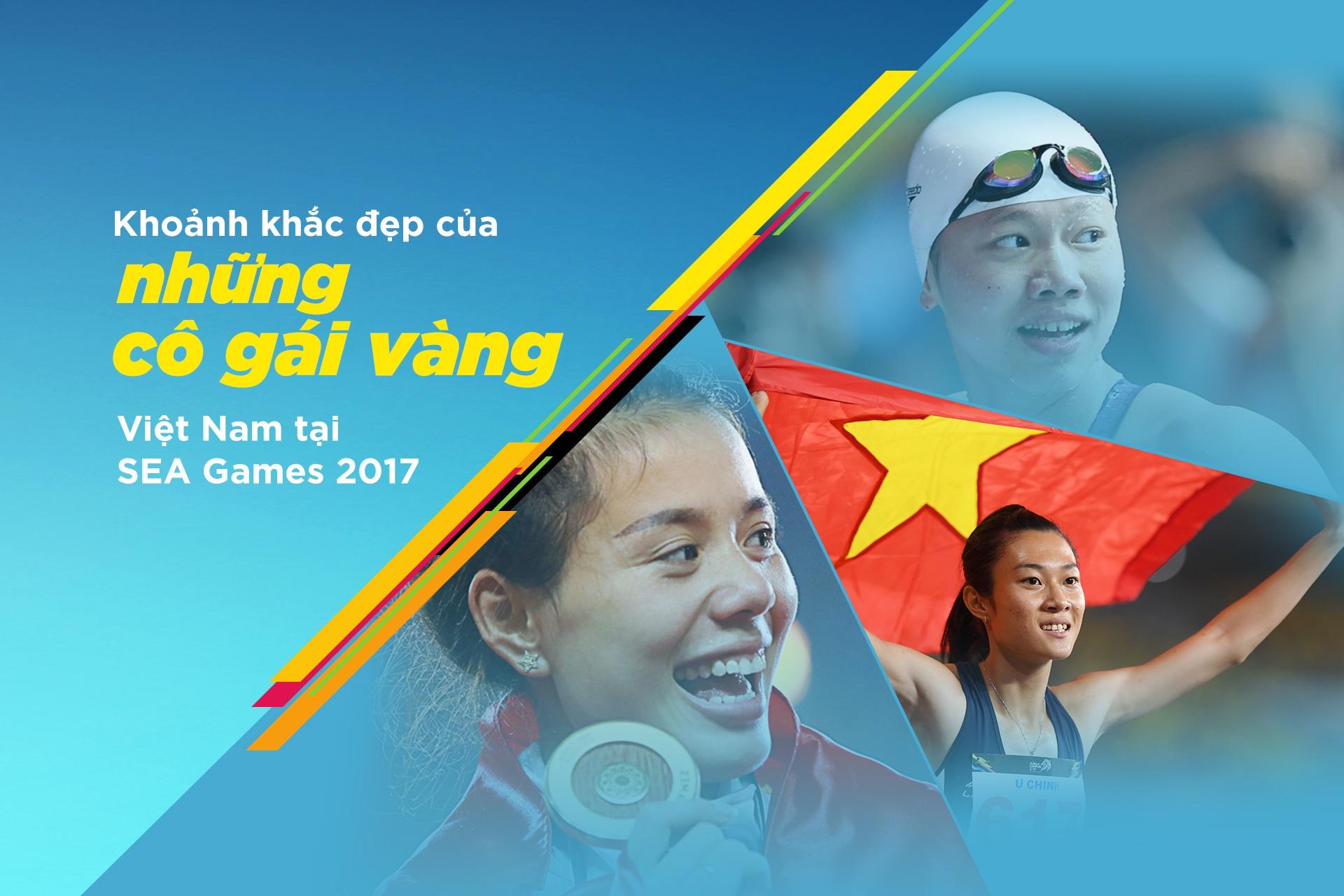 Khoanh khac dep cua nhung co gai vang Viet Nam tai SEA Games 2017 hinh anh 1