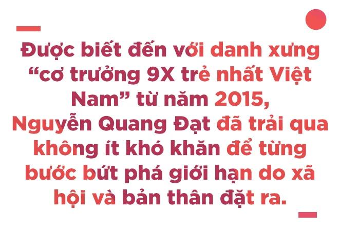Co truong 9X Quang Dat: 'Gioi han lon nhat cua nguoi tre la dinh kien' hinh anh 2