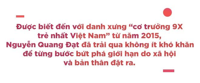Co truong 9X Quang Dat: 'Gioi han lon nhat cua nguoi tre la dinh kien' hinh anh 3