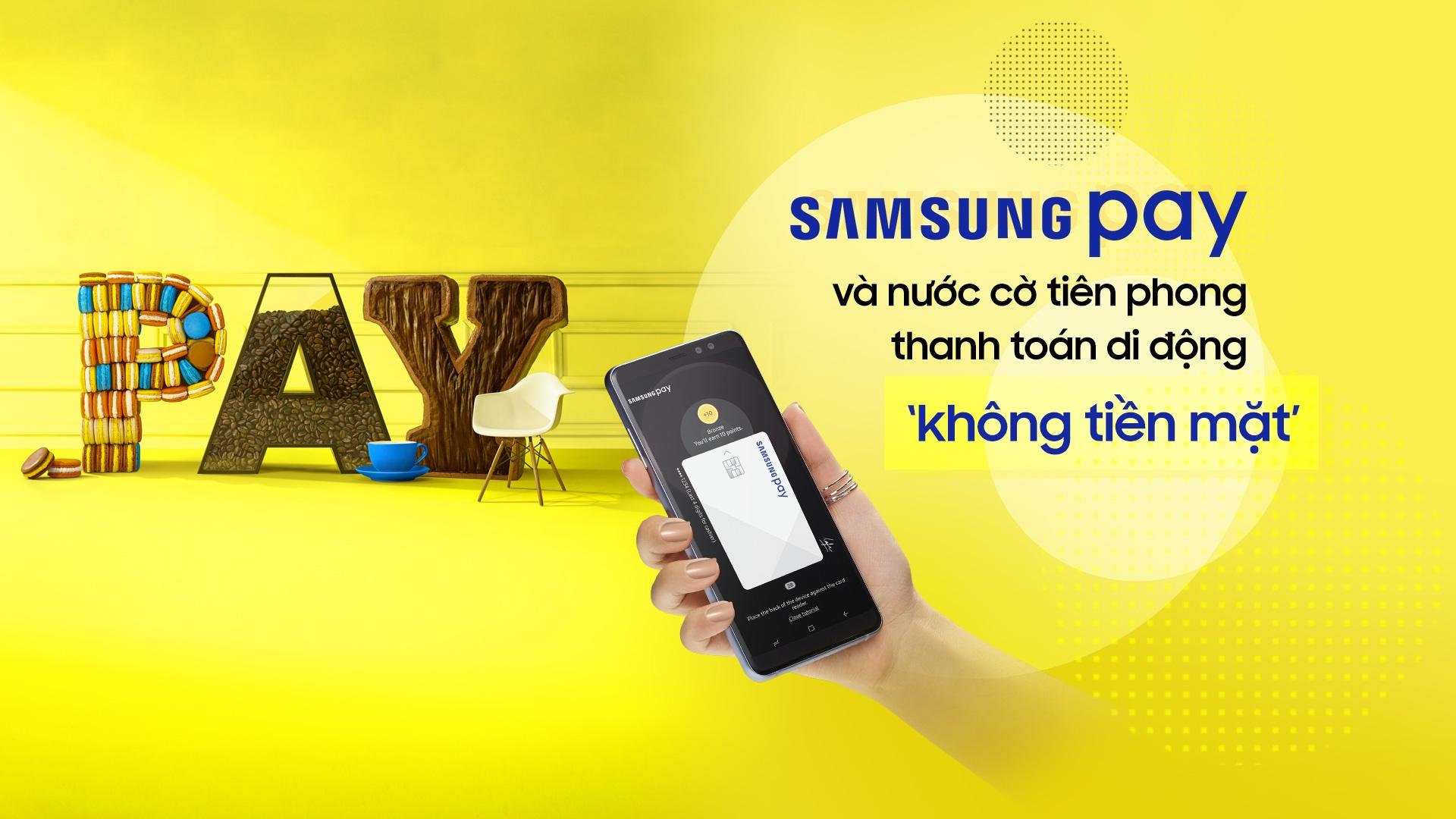 Samsung Pay va nuoc co tien phong thanh toan di dong 'khong tien mat' hinh anh 2