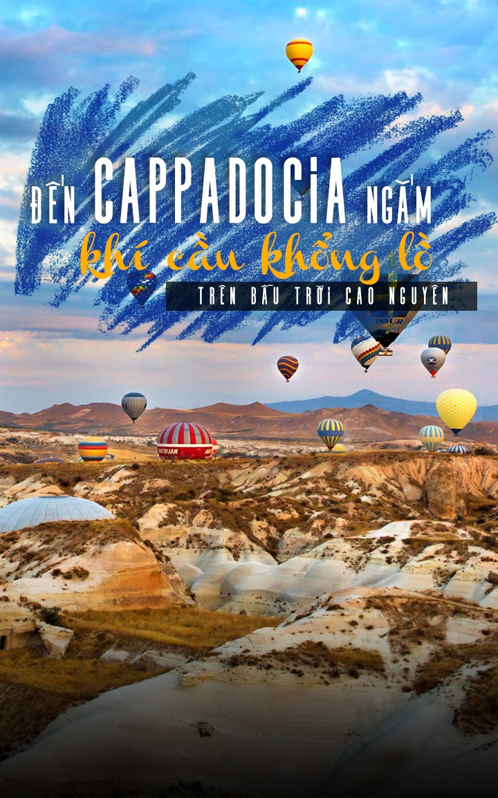 Den Cappadocia ngam khi cau khong lo tren bau troi cao nguyen hinh anh 1