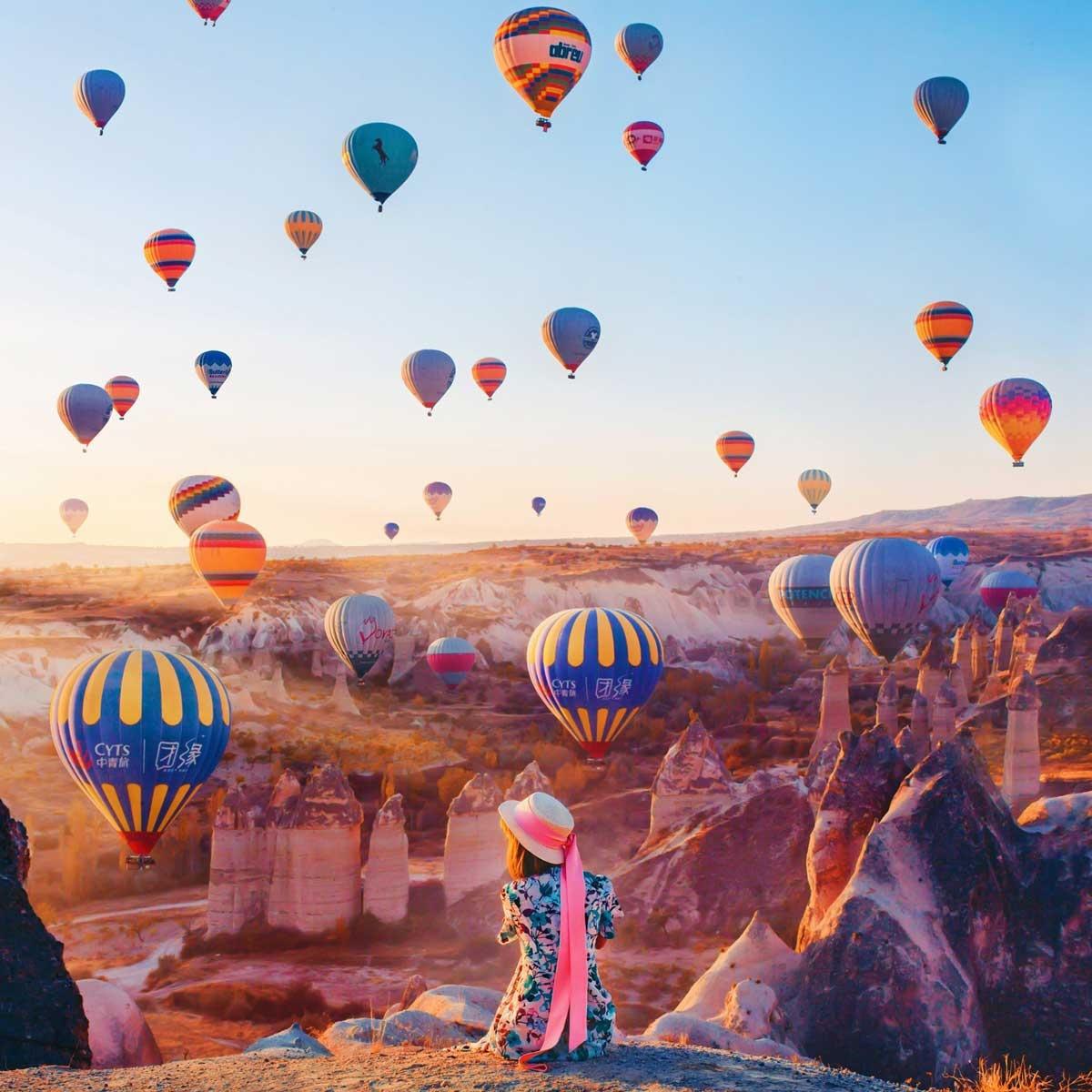 Den Cappadocia ngam khi cau khong lo tren bau troi cao nguyen hinh anh 4