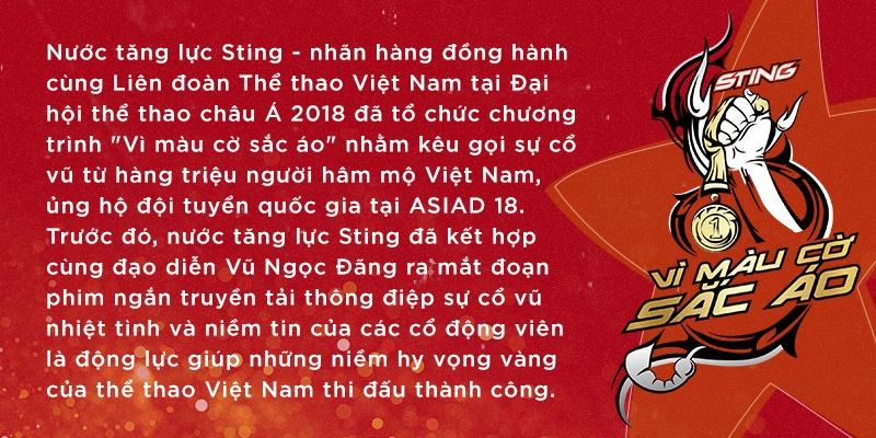 ASIAD,  Hoang Xuan Vinh,  Sting anh 12