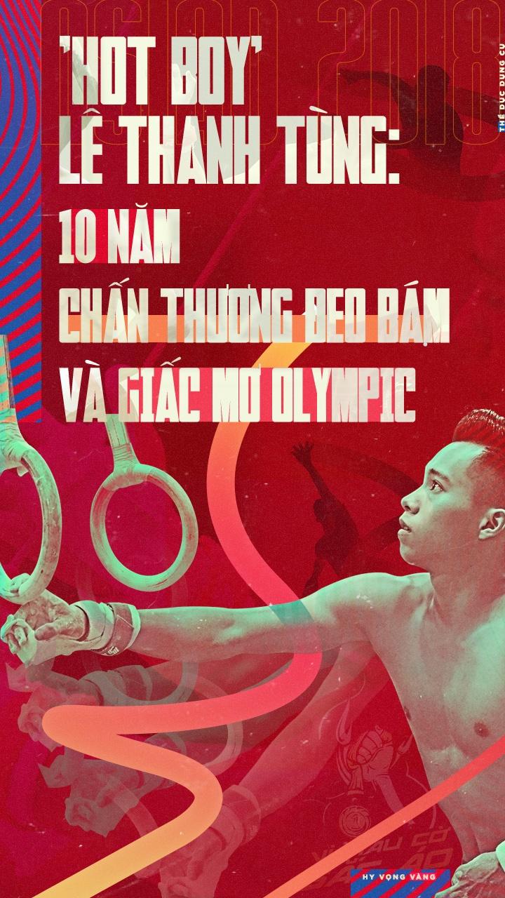 'Hot boy' Le Thanh Tung: 10 nam chan thuong deo bam va giac mo Olympic hinh anh 1