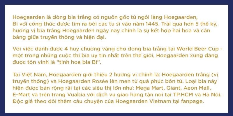 Hoegaarden - tinh hoa bia Bi danh thuc moi giac quan hinh anh 12