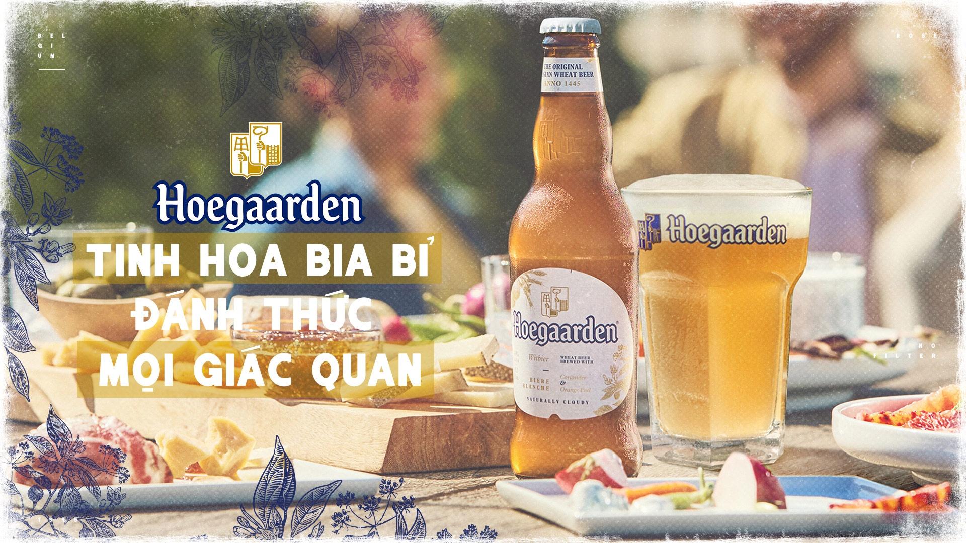 Hoegaarden - tinh hoa bia Bi danh thuc moi giac quan hinh anh 2