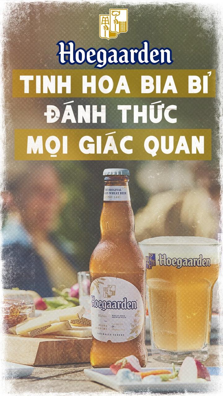 Hoegaarden - tinh hoa bia Bi danh thuc moi giac quan hinh anh 1