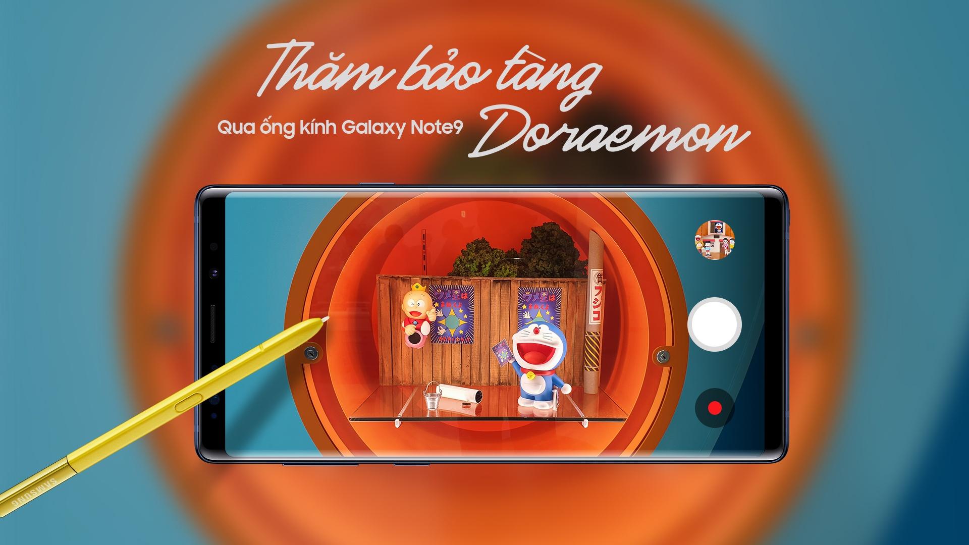 Tham bao tang Doraemon qua ong kinh Galaxy Note9 hinh anh 2