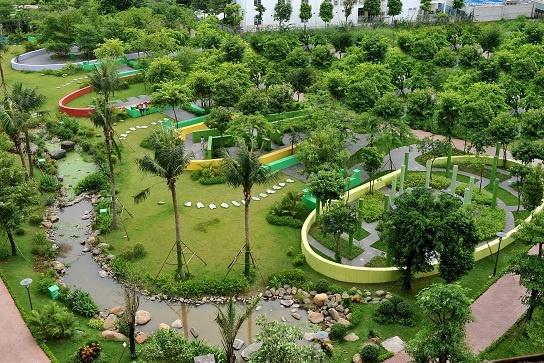 Hon 70.000 m2 cay xanh trong du an nghin ty giua long Ha Noi hinh anh 8