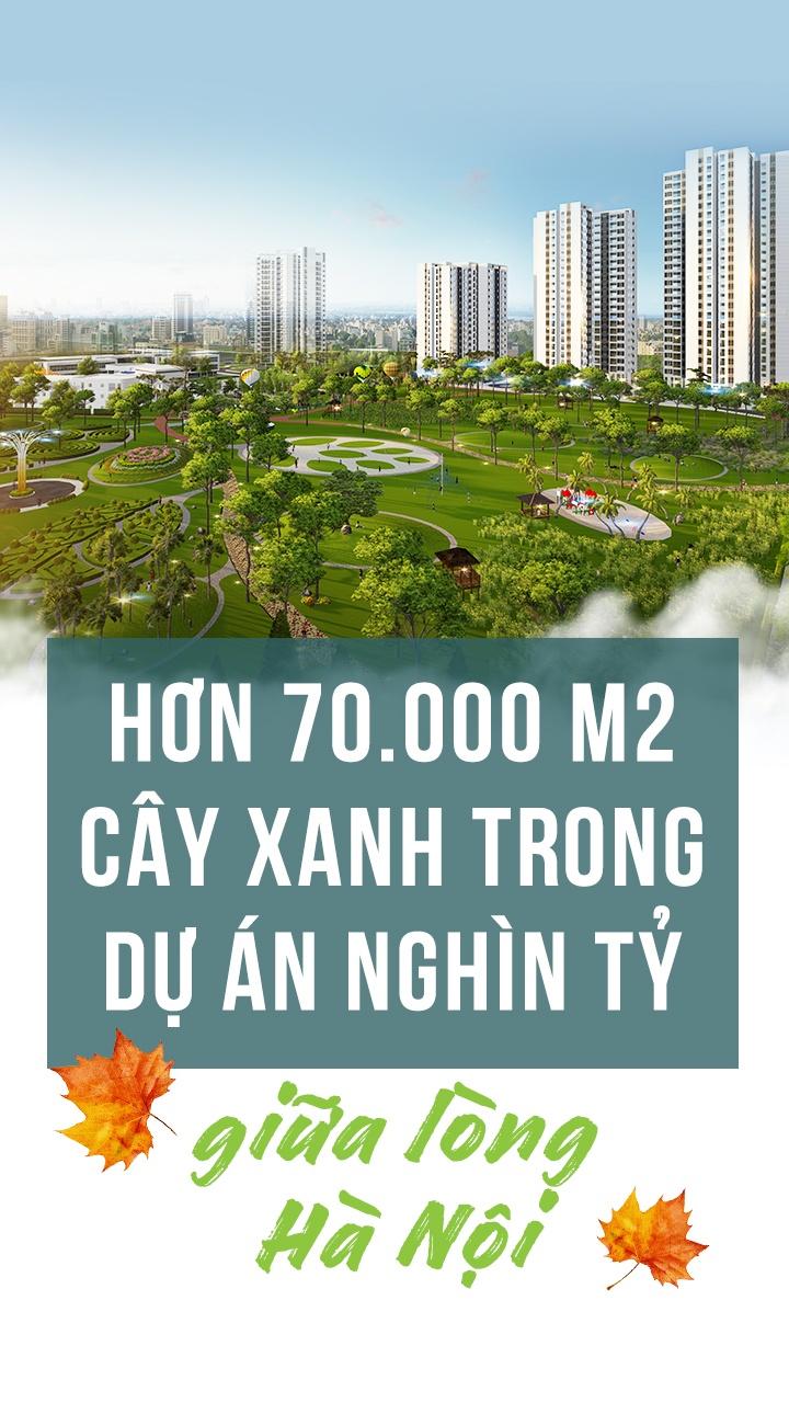 Hon 70.000 m2 cay xanh trong du an nghin ty giua long Ha Noi hinh anh 1