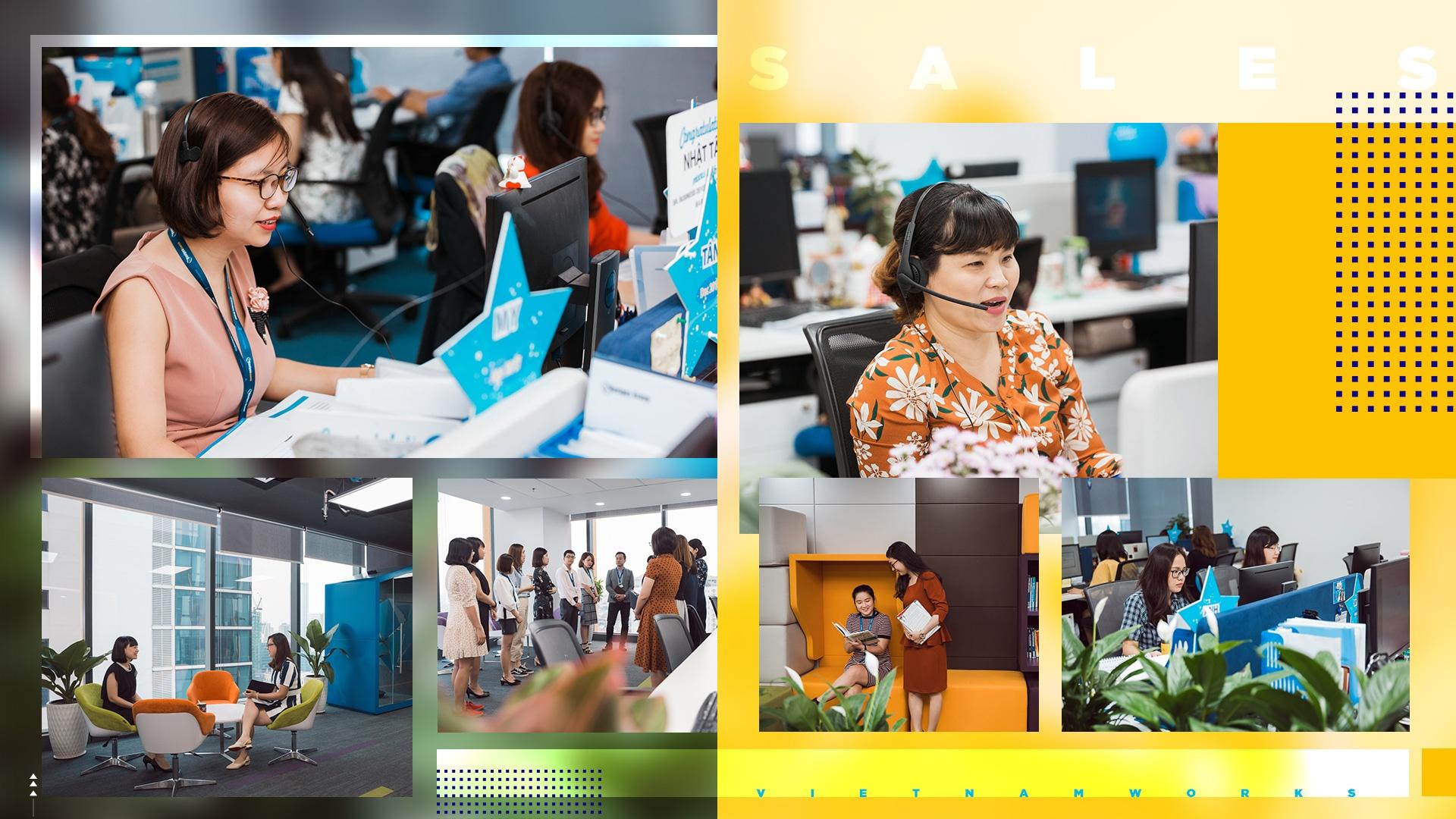 Giam doc KD VietnamWorks: 'Sales khong phai nghe di xin, ma la di cho' hinh anh 12