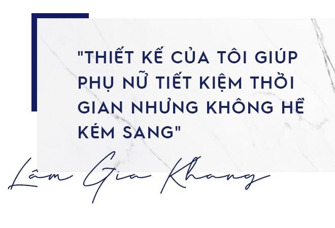 Lam Gia Khang: 'Toi khong dung thu cho su xue xoa trong thoi trang' hinh anh 7