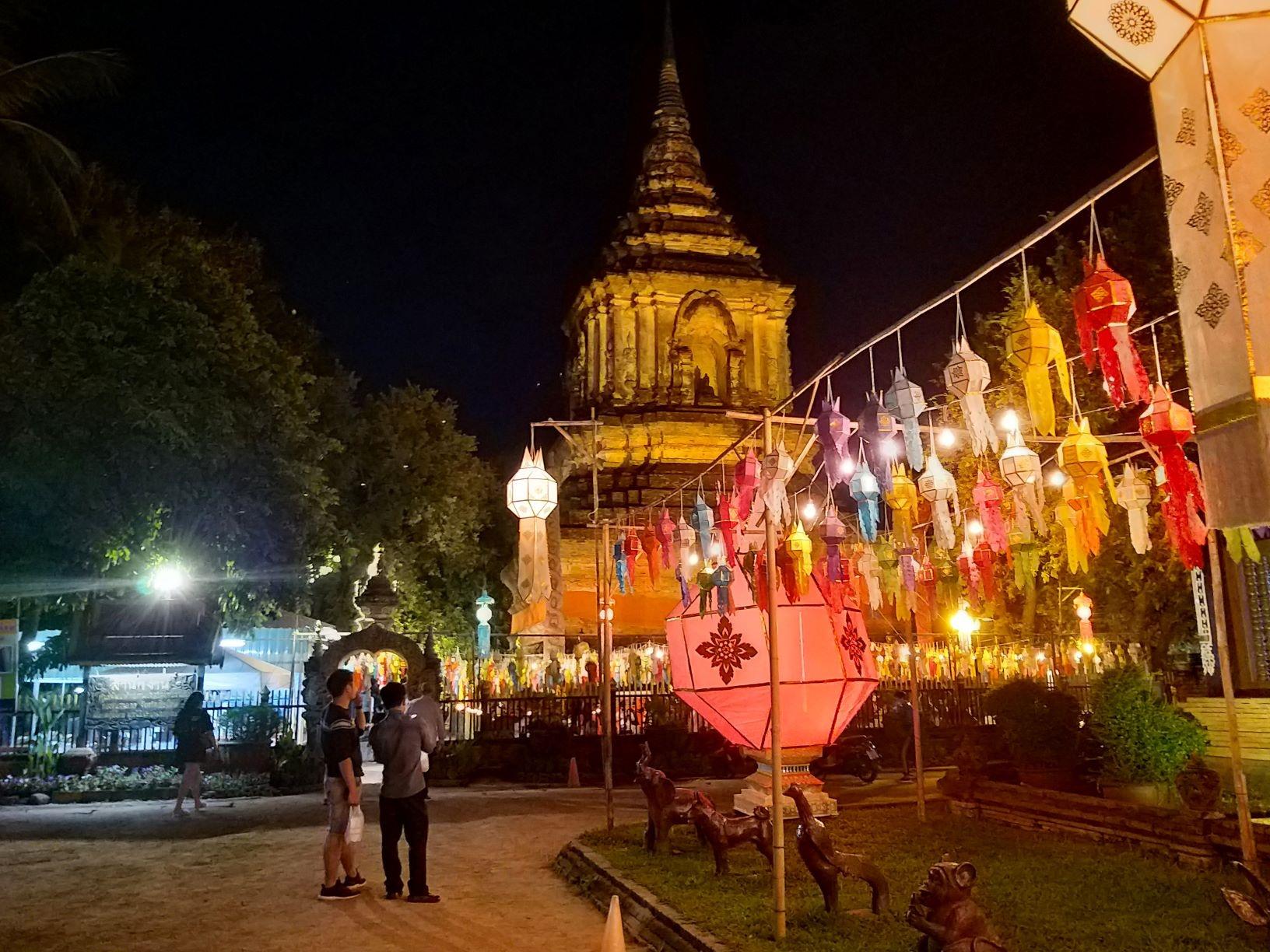 Chiang Mai, Thai Lan mua le hoi lung linh - Yee Peng va Loy Krathong hinh anh 3