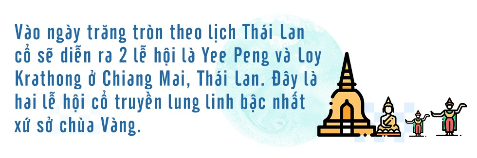 Chiang Mai, Thai Lan mua le hoi lung linh - Yee Peng va Loy Krathong hinh anh 2