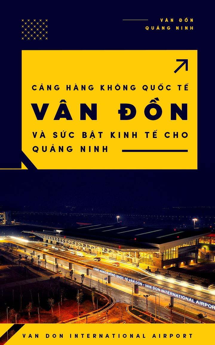Cang hang khong quoc te Van Don va suc bat kinh te cho Quang Ninh hinh anh 1