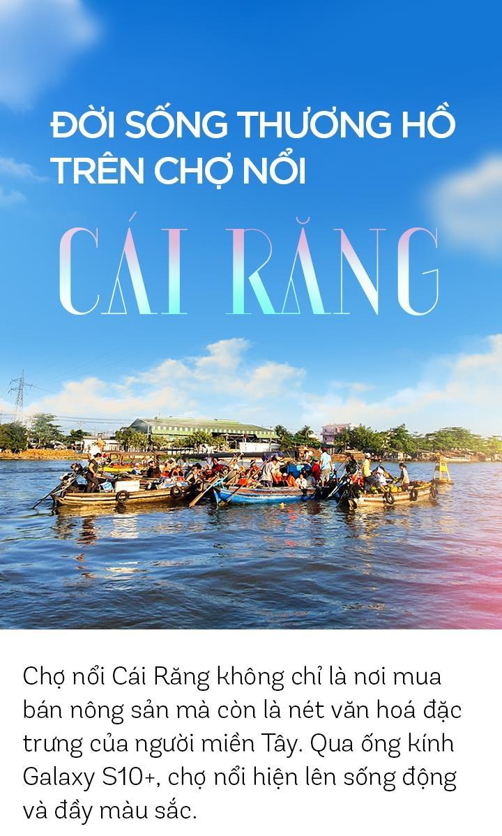Doi song thuong ho tren cho noi Cai Rang hinh anh 1