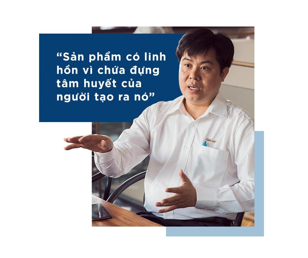 Triet ly 'thoi linh hon, uom cot cach' cua CEO Dai Viet hinh anh 4