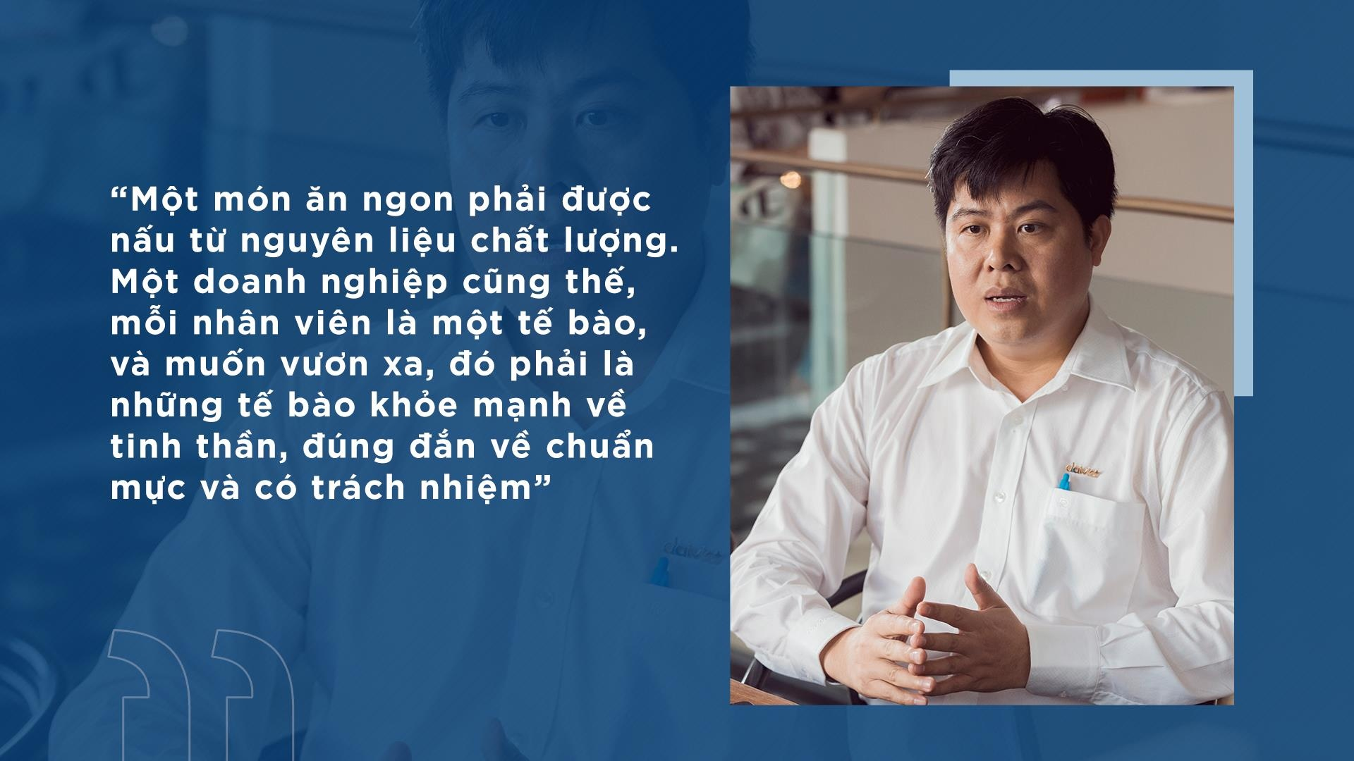 Triet ly 'thoi linh hon, uom cot cach' cua CEO Dai Viet hinh anh 9