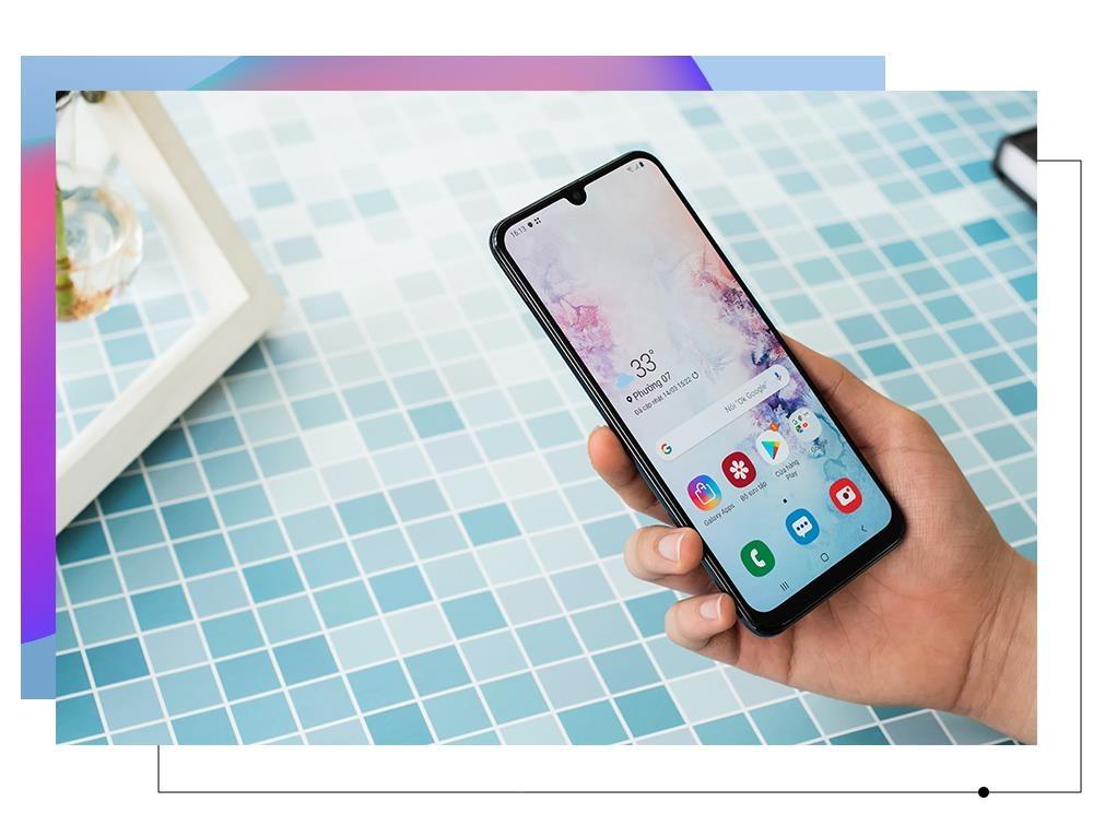 Galaxy A50 - lan gio moi cua nhom di dong tam trung o Viet Nam hinh anh 9