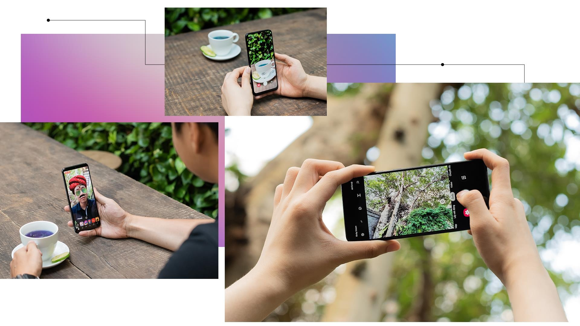 Galaxy A50 - lan gio moi cua nhom di dong tam trung o Viet Nam hinh anh 8
