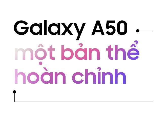 Galaxy A50 - lan gio moi cua nhom di dong tam trung o Viet Nam hinh anh 6