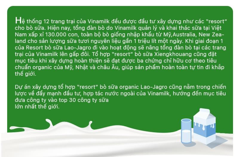 'Resort' bo sua organic cua Vinamilk tai Lao - co duyen va chien luoc hinh anh 17