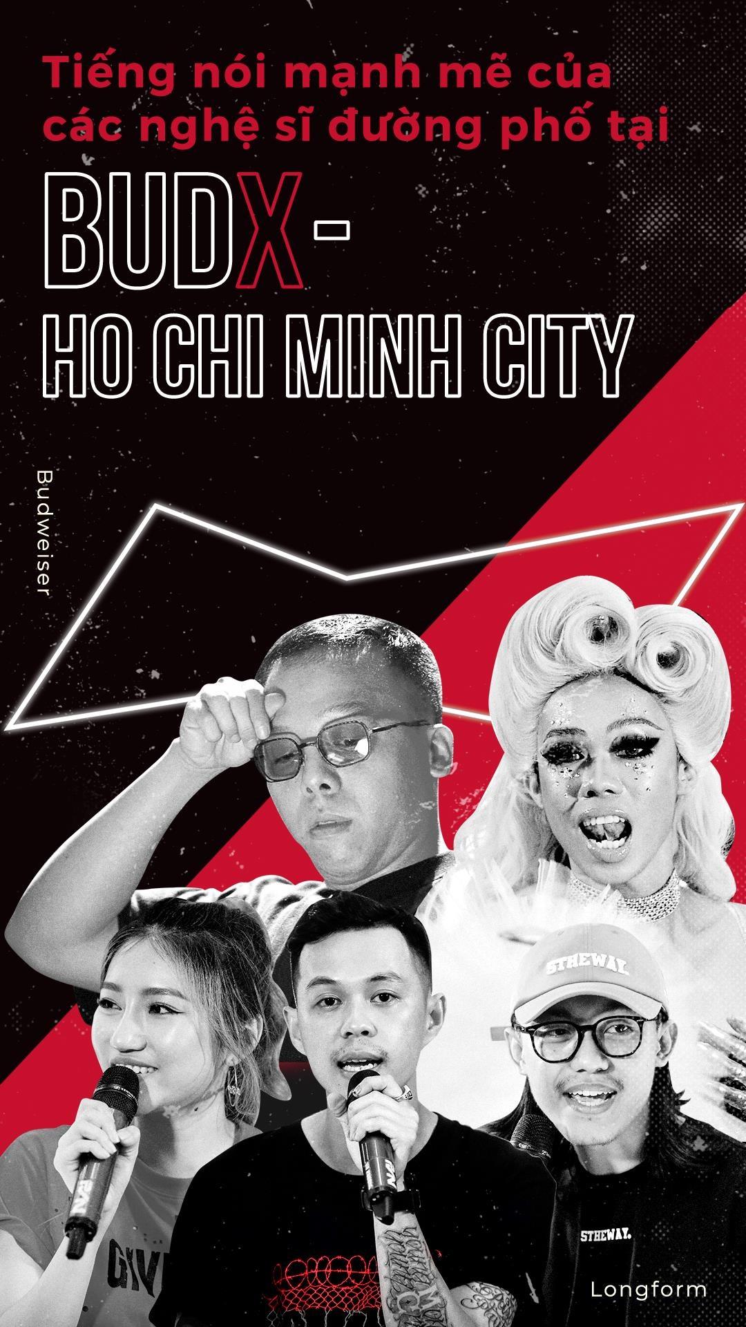 Tieng noi manh me cua cac nghe si duong pho tai Budx Ho Chi Minh City hinh anh 1