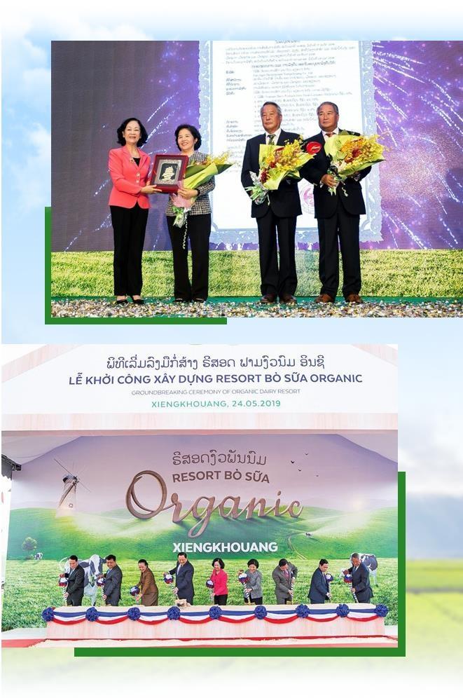 'Resort' bo sua organic cua Vinamilk tai Lao - co duyen va chien luoc hinh anh 14