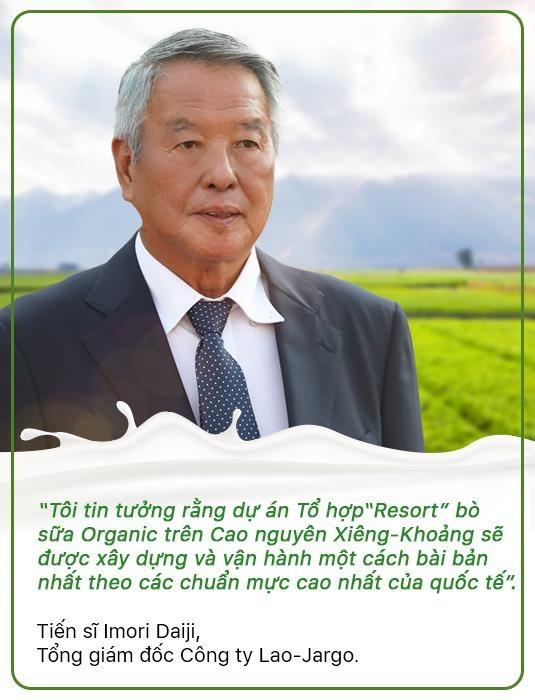 'Resort' bo sua organic cua Vinamilk tai Lao - co duyen va chien luoc hinh anh 6