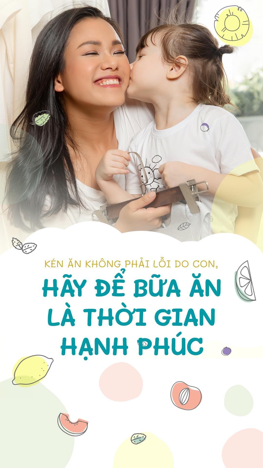Ken an khong phai loi do con, hay de bua an la thoi gian hanh phuc hinh anh 1