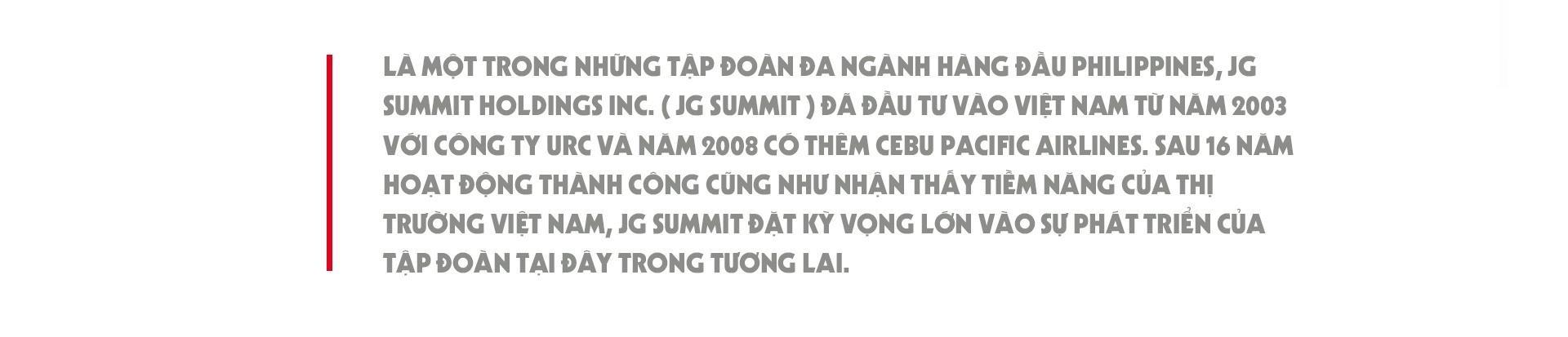 CEO JG Summit: 'Toi tin o tiem nang phat trien cua tap doan tai VN' hinh anh 3