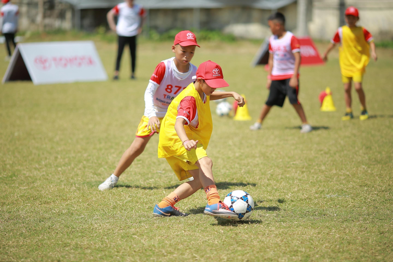Toyota Junior Football - hanh trinh 'gieo uoc mo' cho cac cau thu nhi hinh anh 7