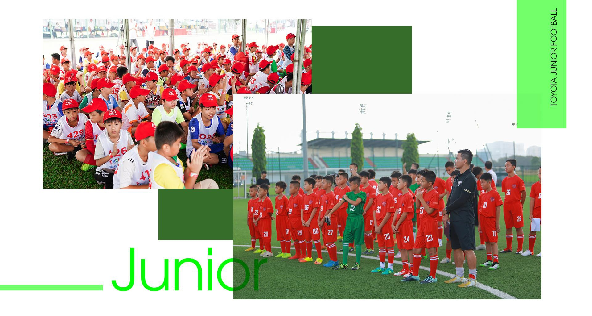 Toyota Junior Football - hanh trinh 'gieo uoc mo' cho cac cau thu nhi hinh anh 4