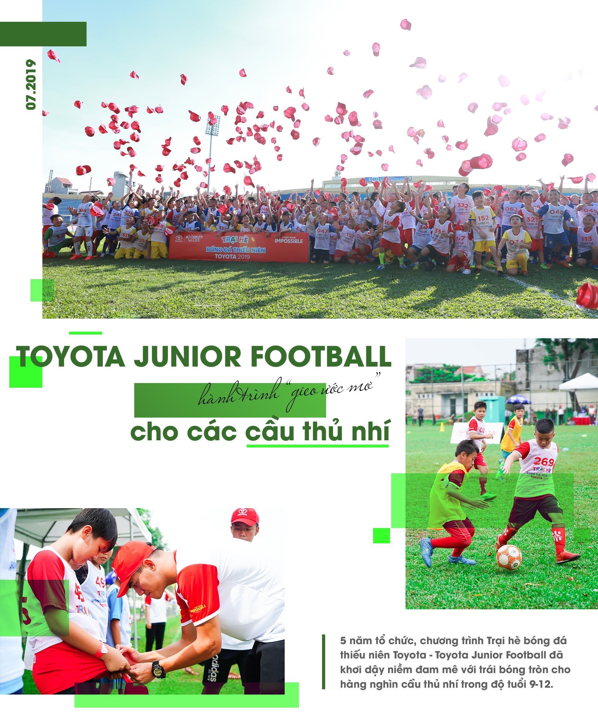 Toyota Junior Football - hanh trinh 'gieo uoc mo' cho cac cau thu nhi hinh anh 2