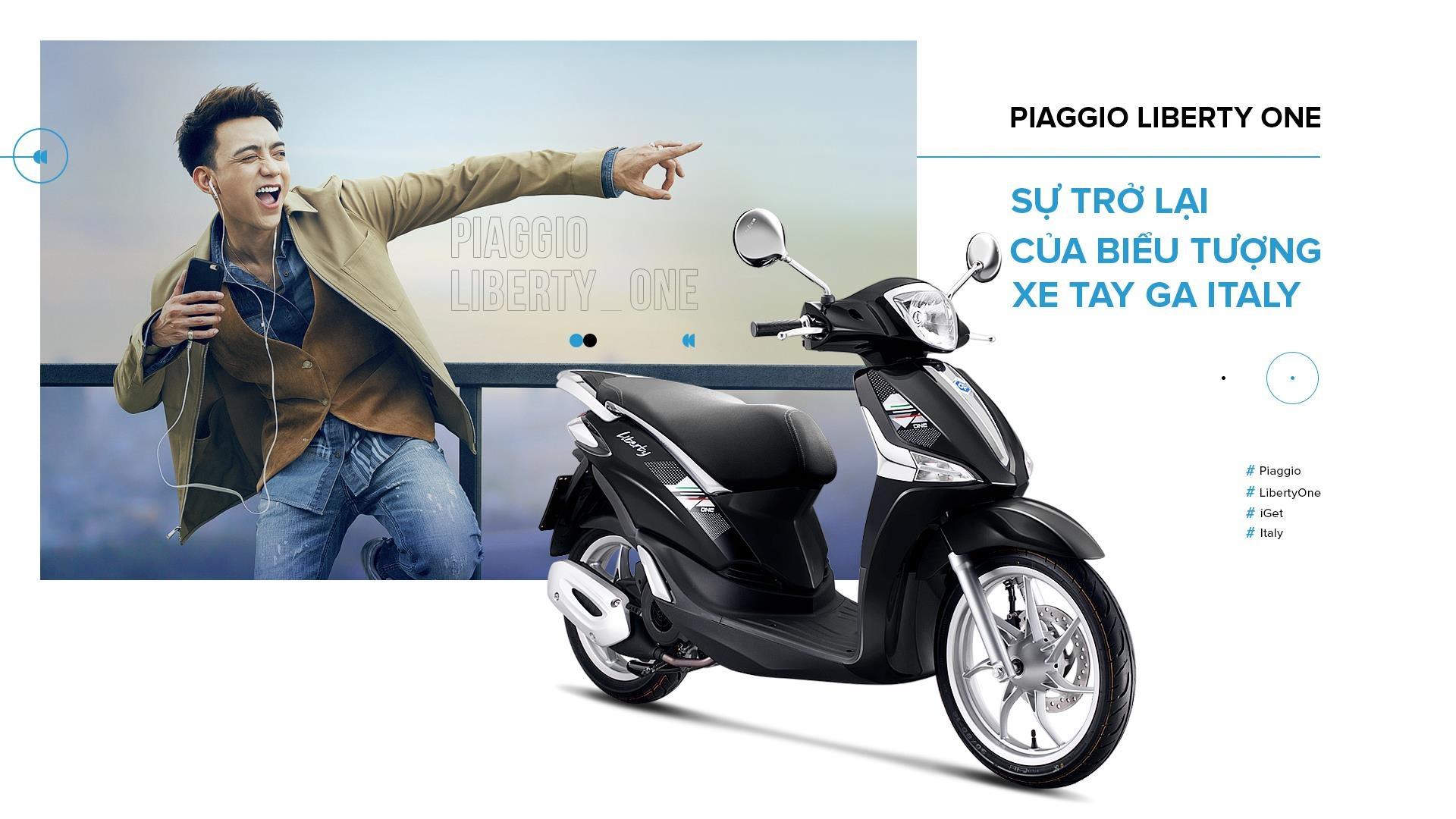 Piaggio Liberty One - su tro lai cua bieu tuong xe tay ga Italy hinh anh 2