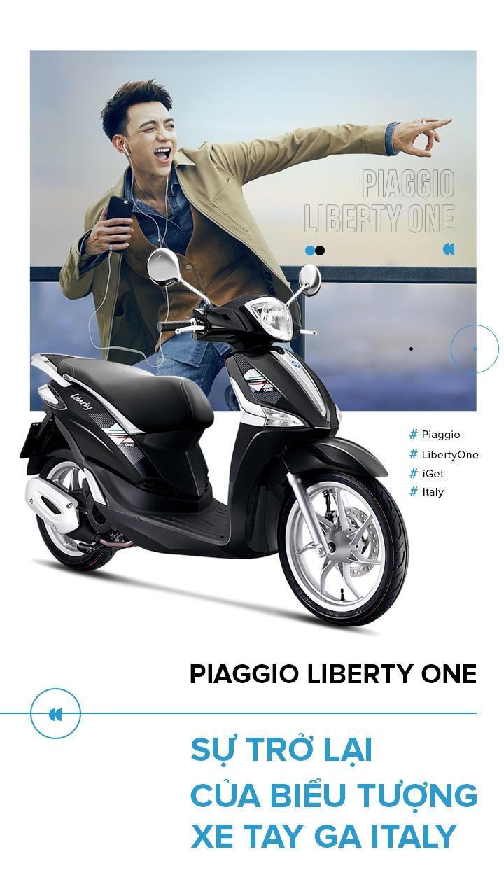 Piaggio Liberty One - su tro lai cua bieu tuong xe tay ga Italy hinh anh 1