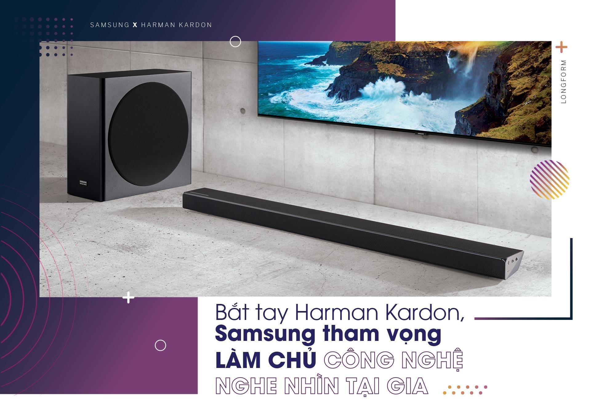 Bat tay Harman Kardon, Samsung tham vong lam chu cong nghe nghe nhin hinh anh 2