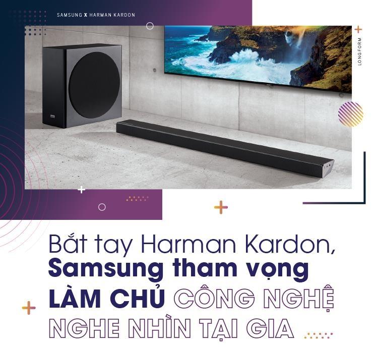 Bắt tay Harman Kardon, Samsung tham vọng làm chủ công nghệ nghe nhìn