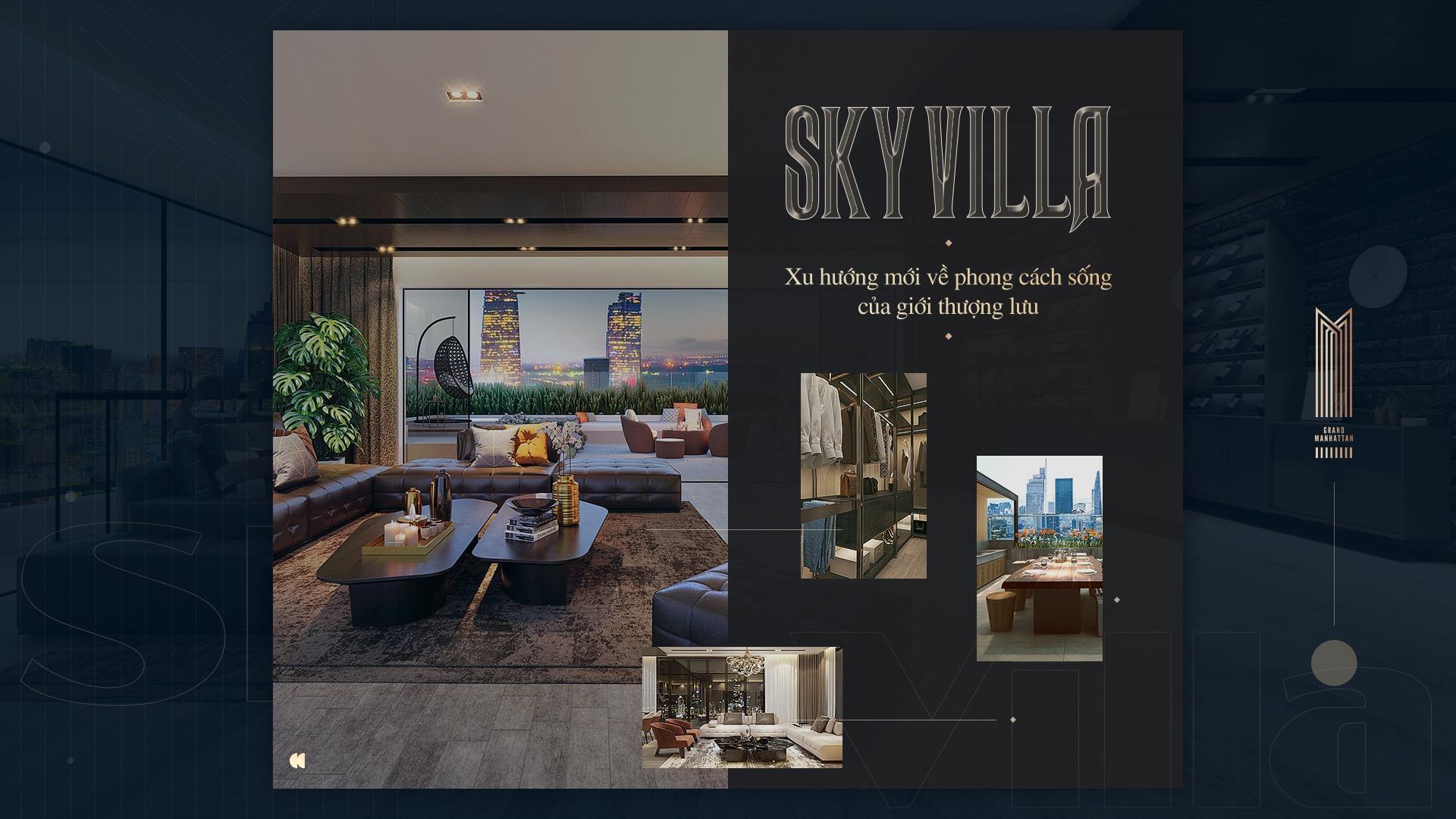 Sky Villa - xu huong moi ve phong cach song cua gioi thuong luu hinh anh 2