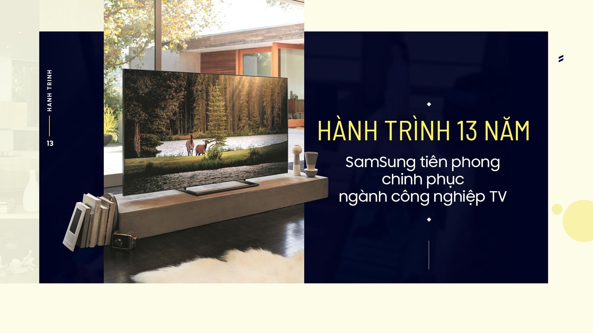 Hanh trinh 13 nam Samsung tien phong chinh phuc nganh cong nghiep TV hinh anh 1
