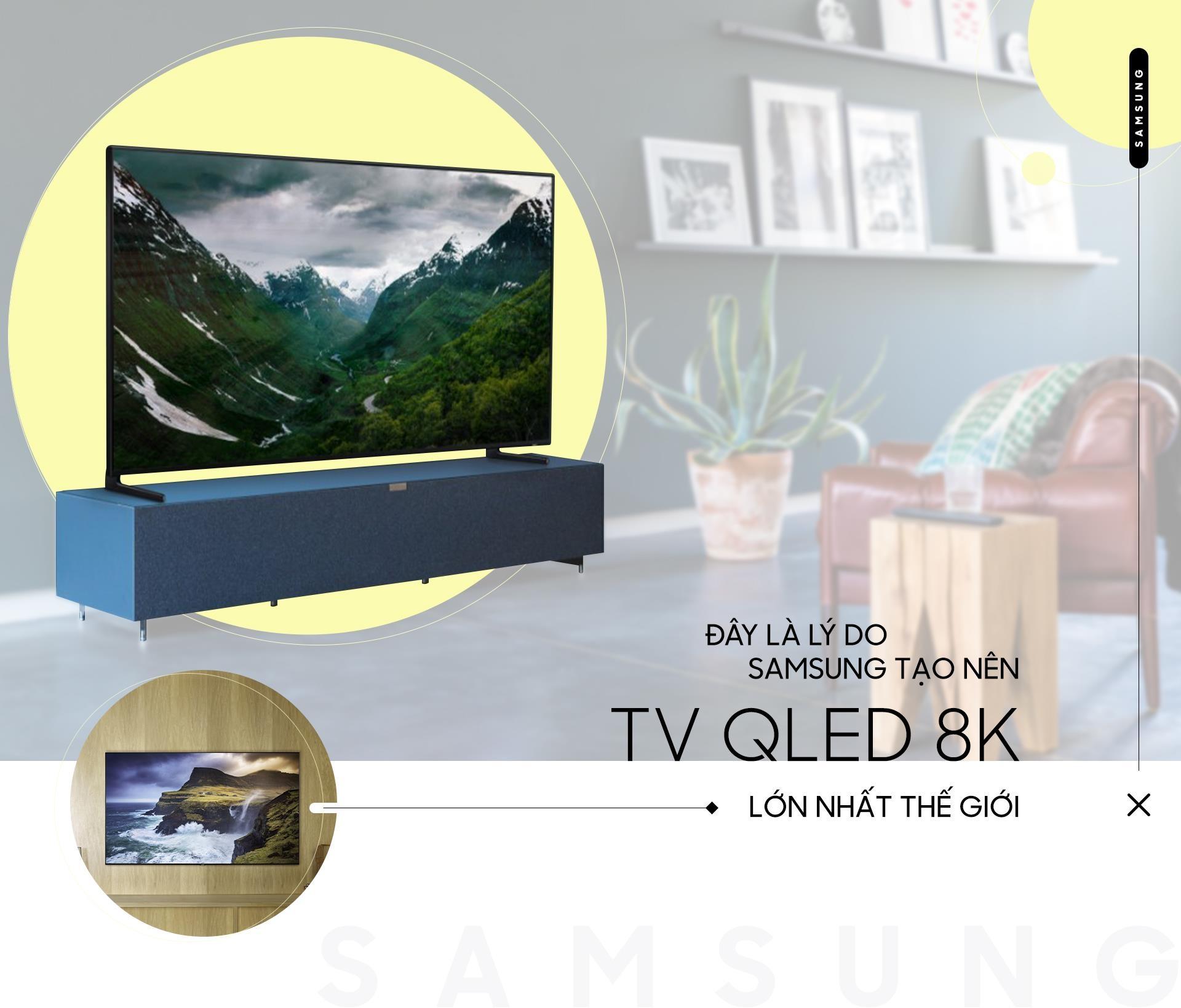 Day la ly do Samsung tao nen TV QLED 8K lon nhat the gioi hinh anh 2