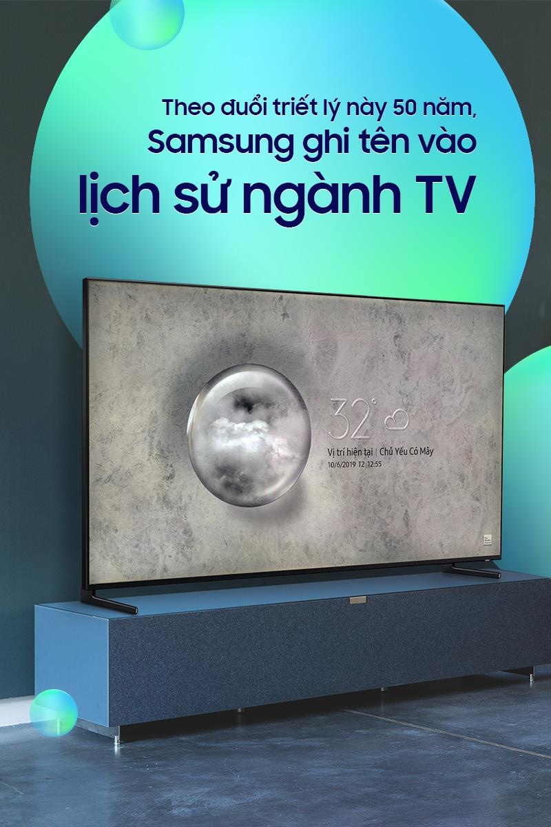 Theo duoi triet ly nay 50 nam, Samsung ghi ten vao lich su nganh TV hinh anh 1