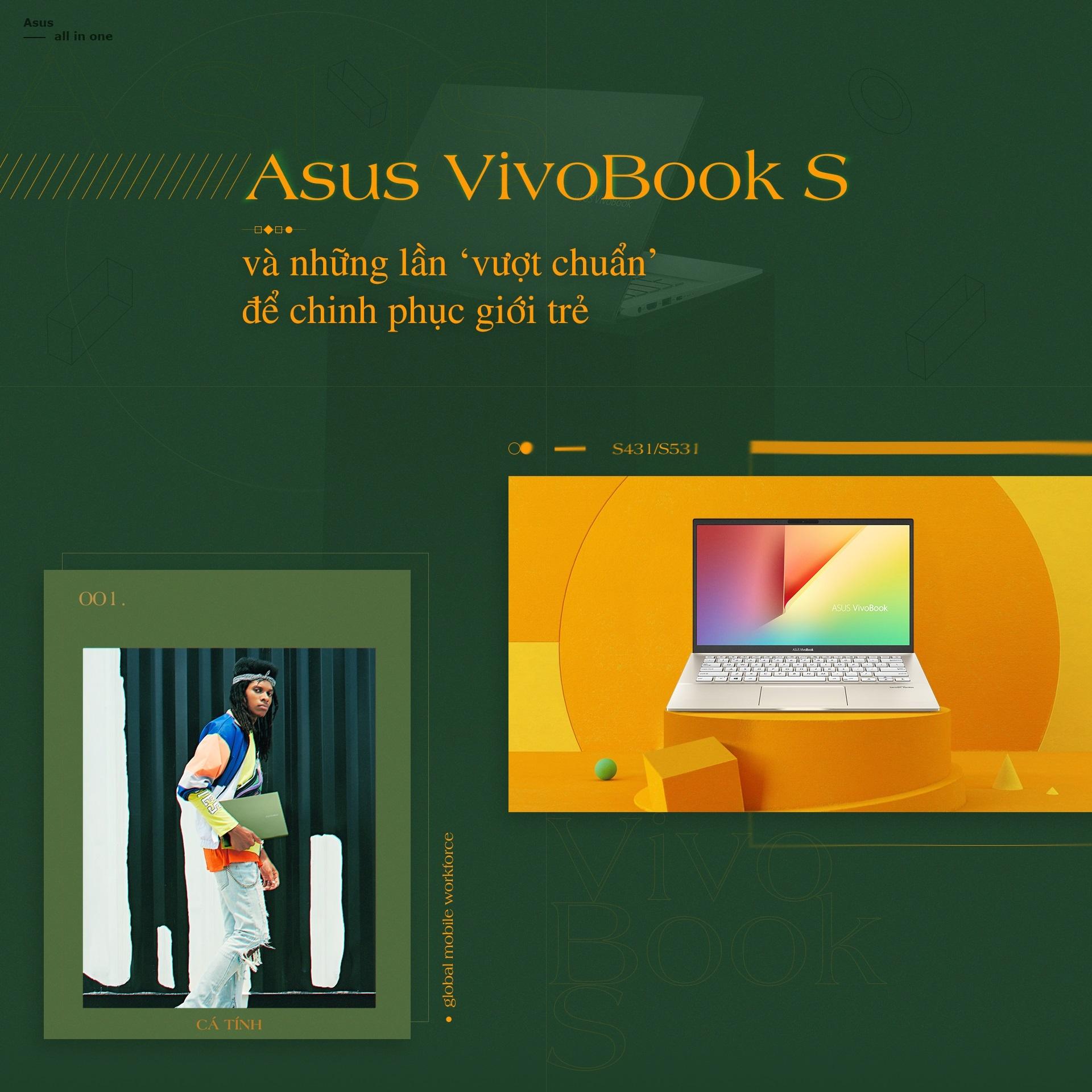 Asus VivoBook S va nhung lan 'vuot chuan' de chinh phuc gioi tre hinh anh 2