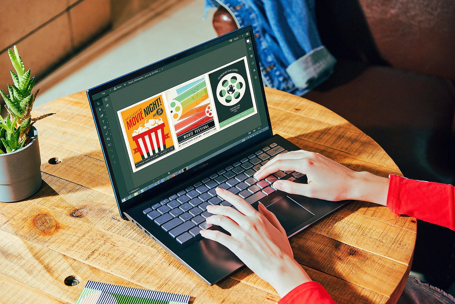 Asus VivoBook S va nhung lan 'vuot chuan' de chinh phuc gioi tre hinh anh 5