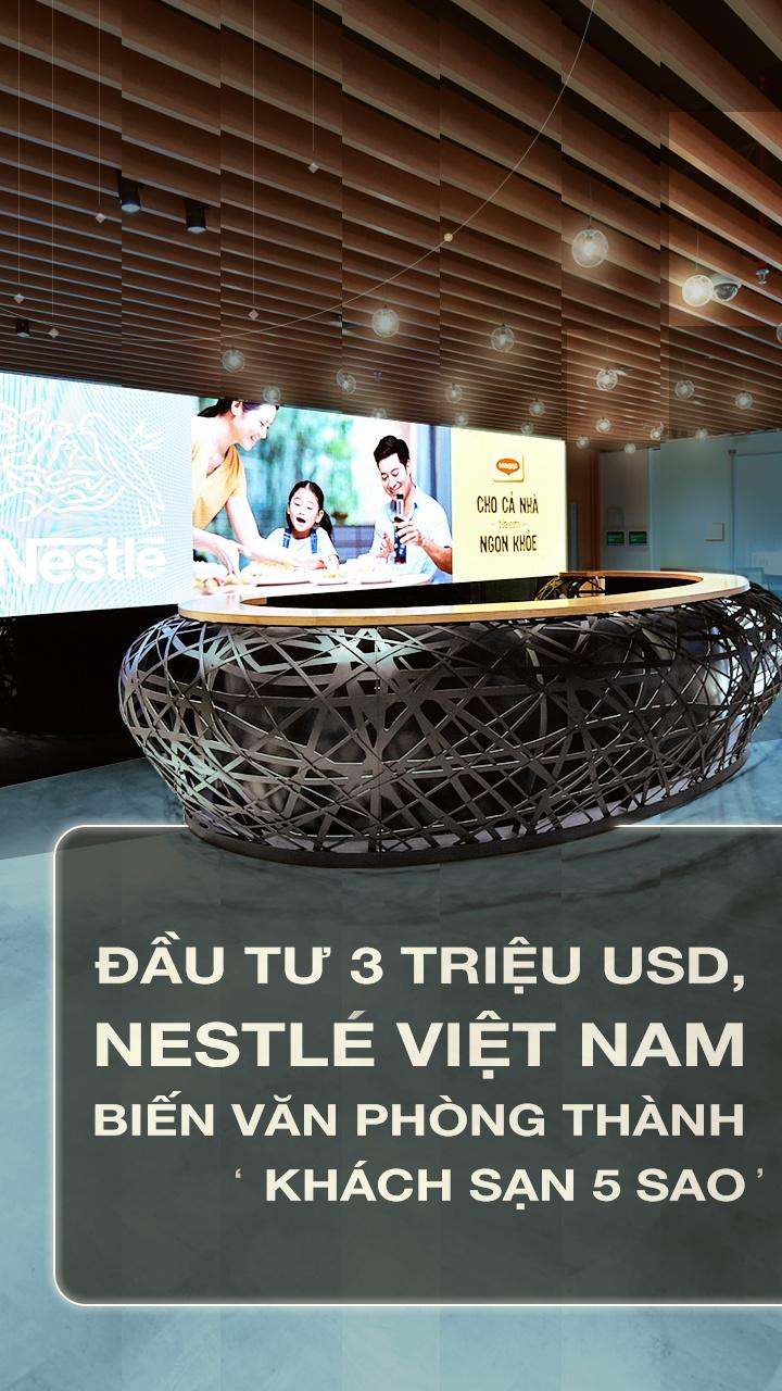 Dau tu 3 trieu USD, Nestle VN bien van phong thanh 'khach san 5 sao' hinh anh 1