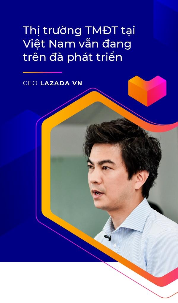 CEO Lazada VN: 'Lazada se lam thoa man duoc nhung tai nang tre' hinh anh 2