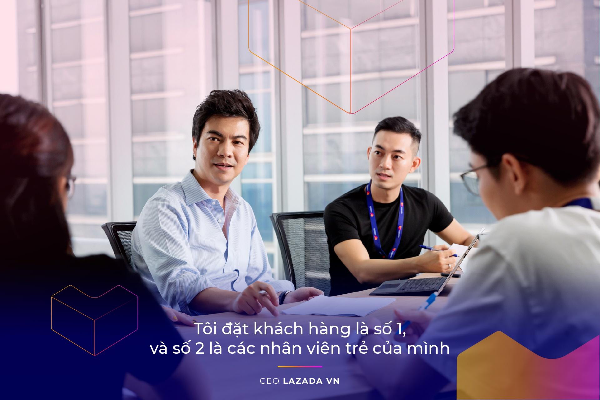 CEO Lazada VN: 'Lazada se lam thoa man duoc nhung tai nang tre' hinh anh 8